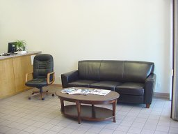 Lee's Automotive Customer Waiting Area